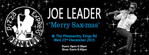 Joe Leader @ The Pheasantry, Wed 23rd December