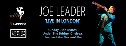 Joe Leader - Live in London 26.3.17